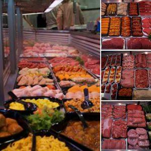 Winkel Slagerij Ankersmit Toonbank Vlees Vleeswaren Salades