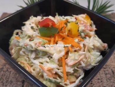 salade van het huis slagerij ankersmit well