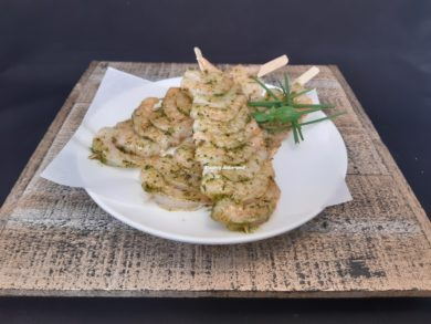 scampi brochette slagerij ankersmit well
