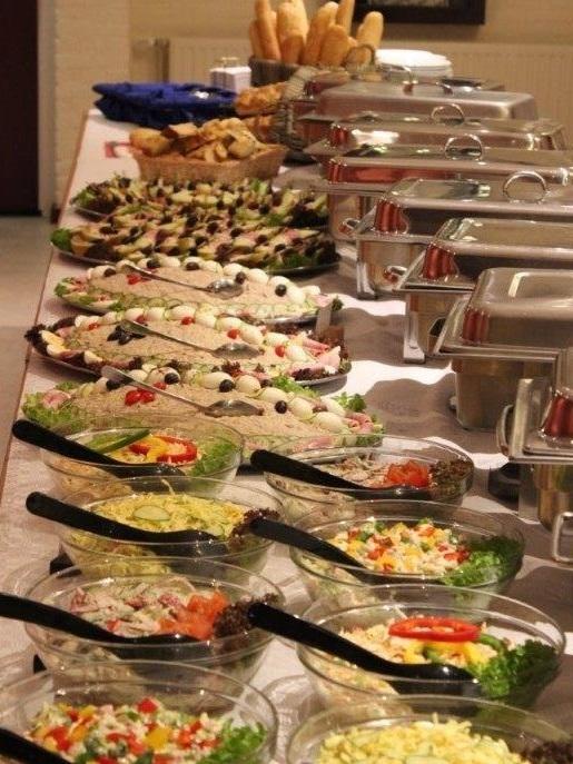 koud warm buffet